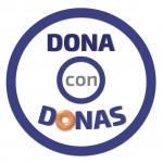 Dona con Donas Logo