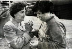 Foto Abuelita y Luly
